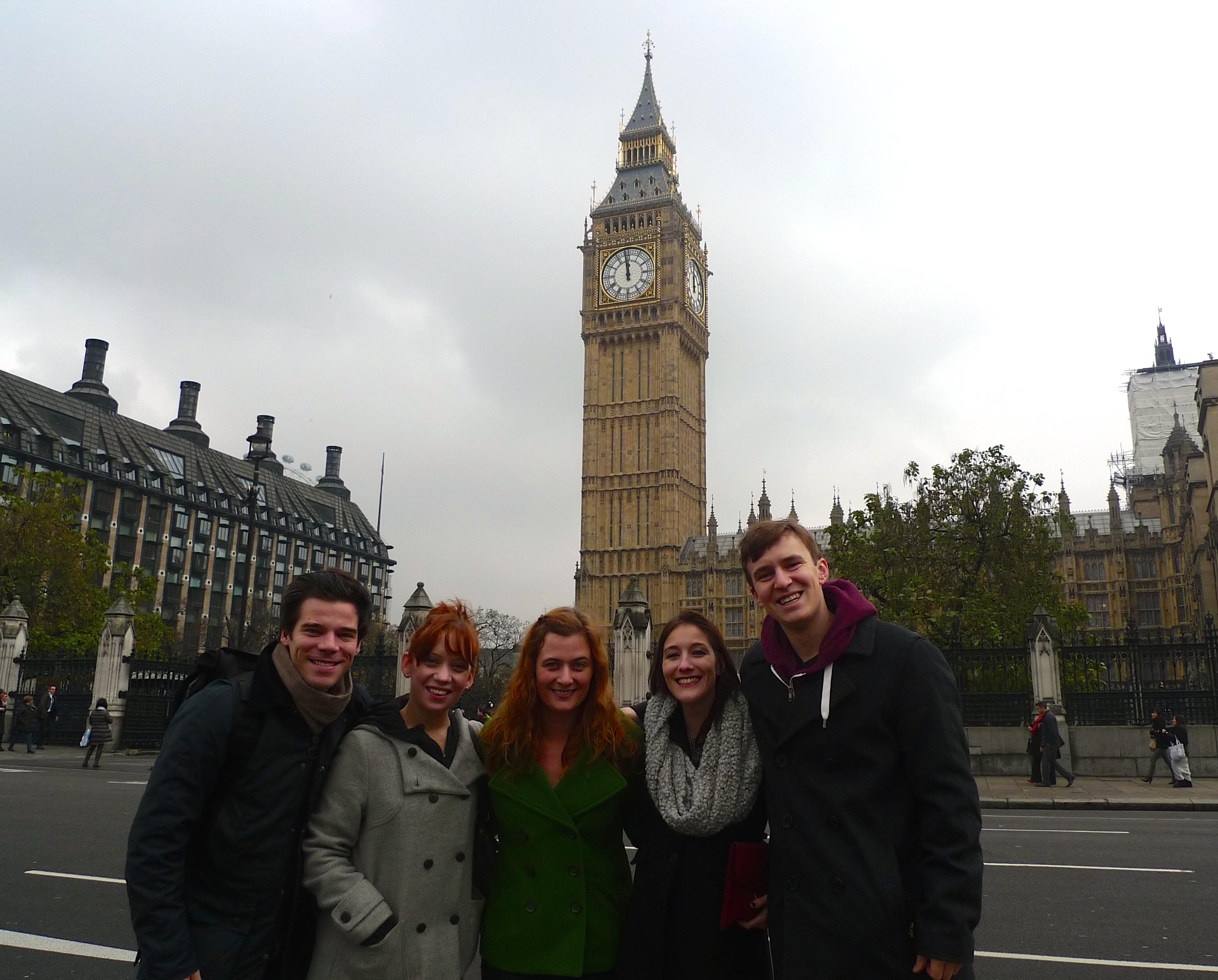 2013 Trip to London