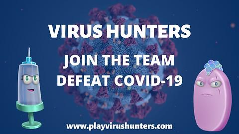 Virus Hunters Promotional Graphic