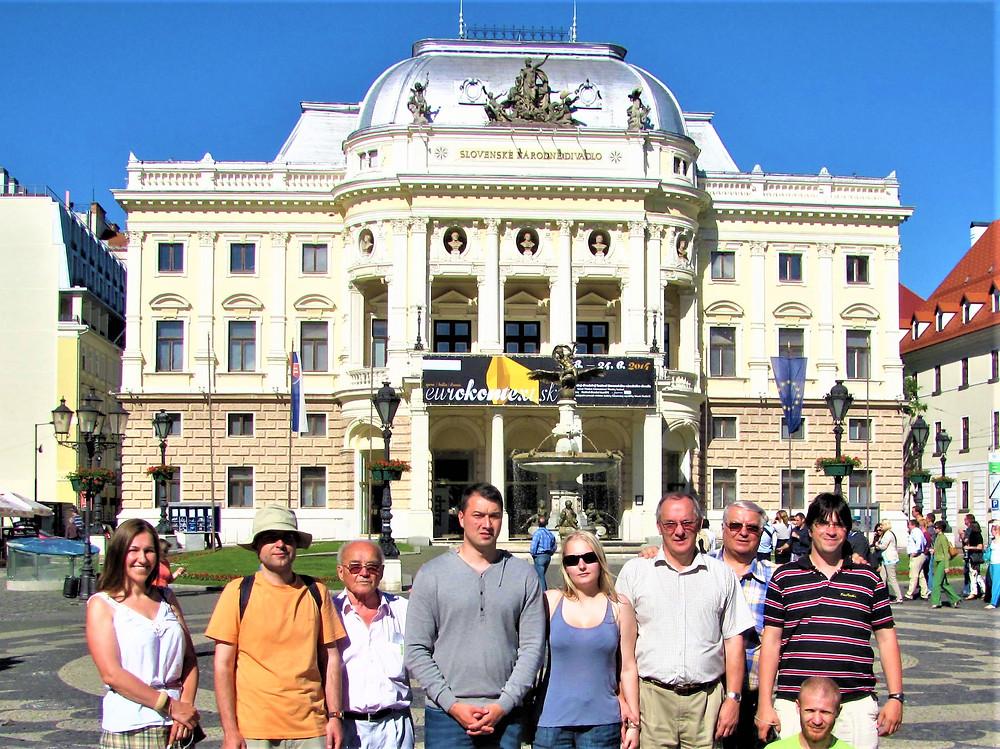 Hallgatókkal a Vereckei hágón, 2009