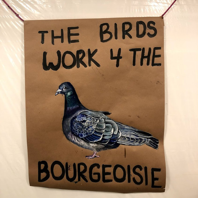 the birds work for the bourgeoisie