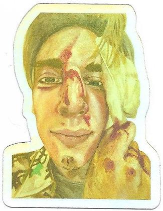 Self-Portrait Sticker (Holographic)