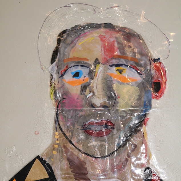 Self-Portrait 1 (detail1)