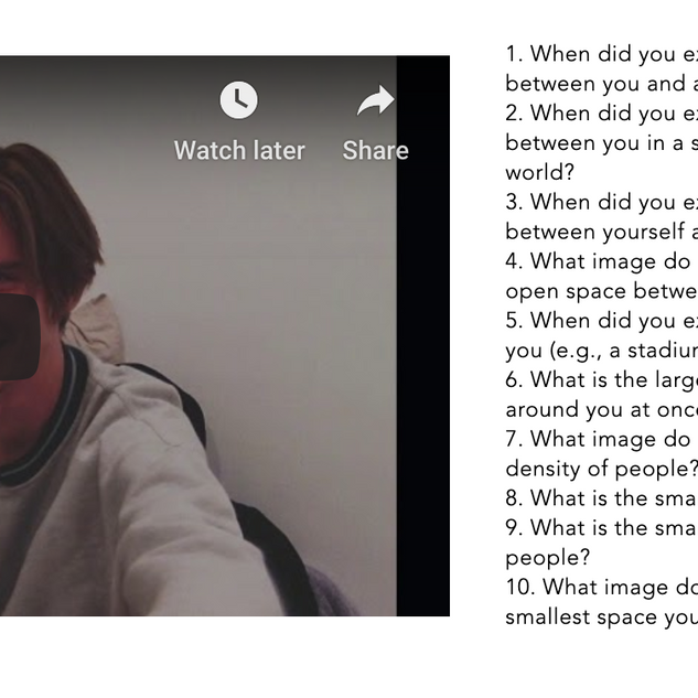 Space and Body Video