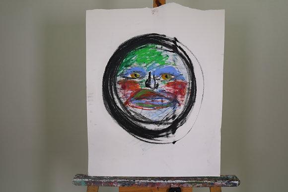 Self-Portrait (in Pastel #5)