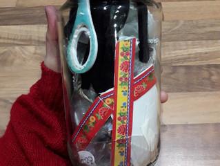 What's in my trash jar? - November 2018