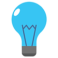 Teal lightbulb icon