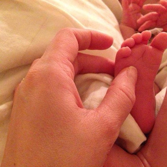The Arrival of Tiny Feet