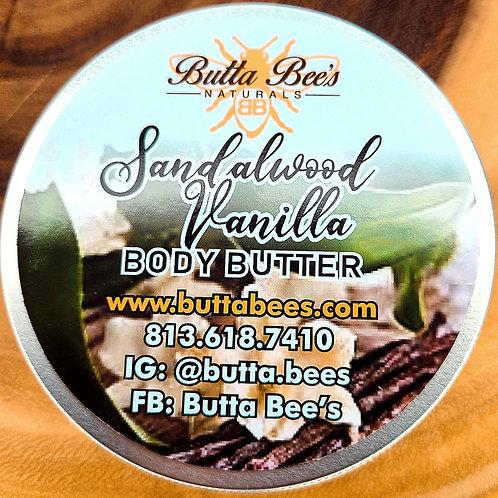 Sandalwood Vanilla Body Butter