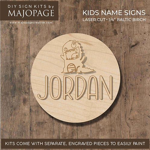 Kids Name Circle Sign Kits