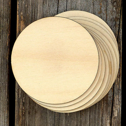 Ultimate Maker's Bundle - 17 unfinished Baltic Birch circles - various sizes
