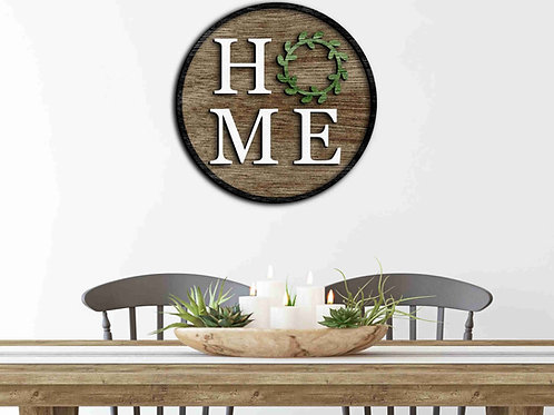 DIY 'HOME' Sign making kit