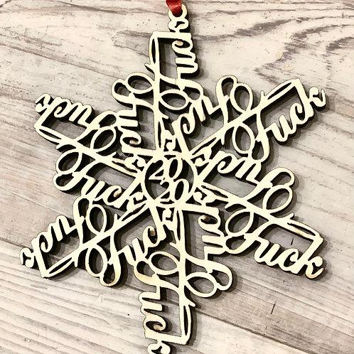 F*ckFlake 2020 Christmas Ornament