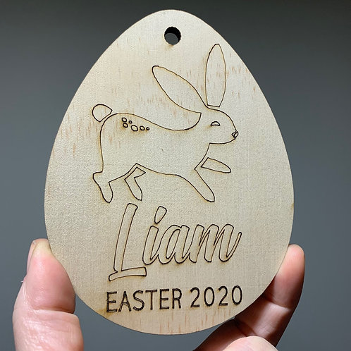 Personalized Easter Gift Tags