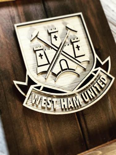West Ham United fan was thrilled to rece