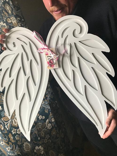 Dimensional Angel Wings