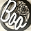 Thumbnail: 'BOO' 3D Front door sign