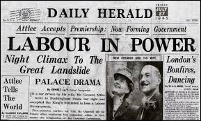 VE DAY AND THE GENERAL ELECTION OF 1945 WHICH FOLLOWED