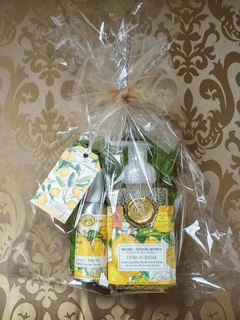 Lemon Basil Hand Soap & Room Spray Gift Package