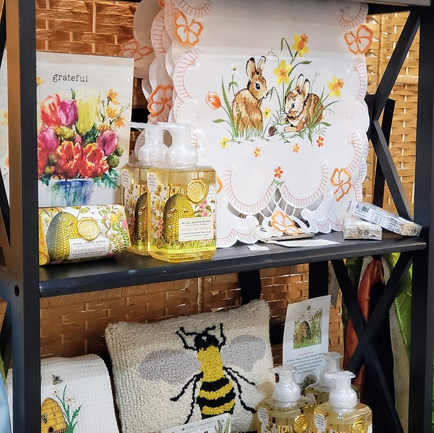 Bunnies, Daffodils and Bees at the Bouti