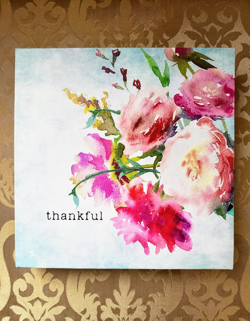 Thankful - Shelf Art