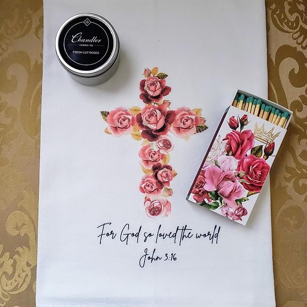 Rose Cross Gift Set