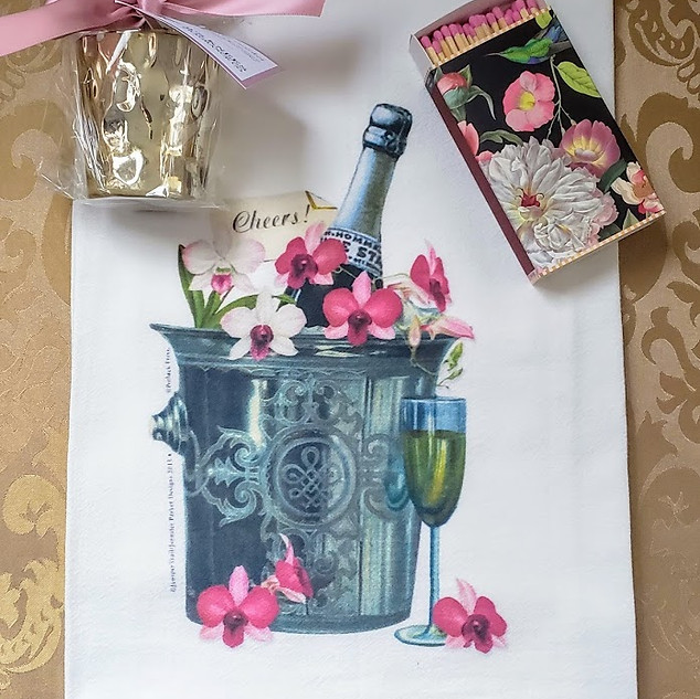 Champagne Cheers to You Gift Set