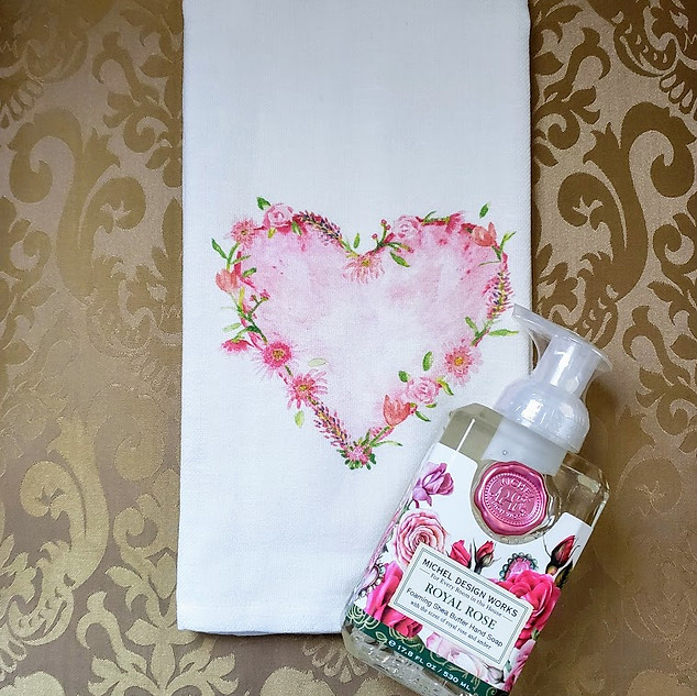 Royal Rose Foaming Hand Soap with a Flow