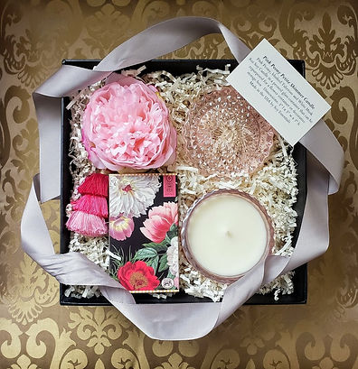 Fragrant Pink Peony Shimmer Black Box Gi