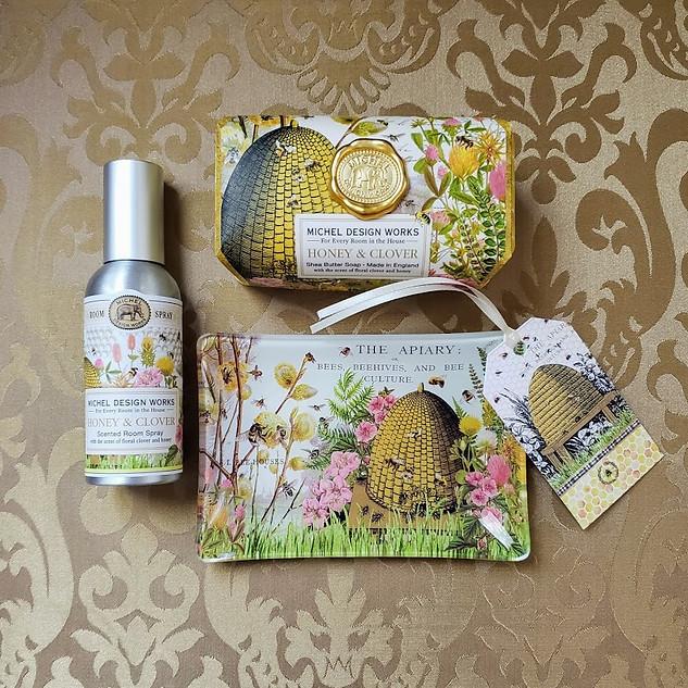Honey & Clover Bees Please Gift Set