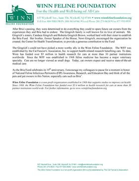10th Anniversary of Bria Fund - Page 2