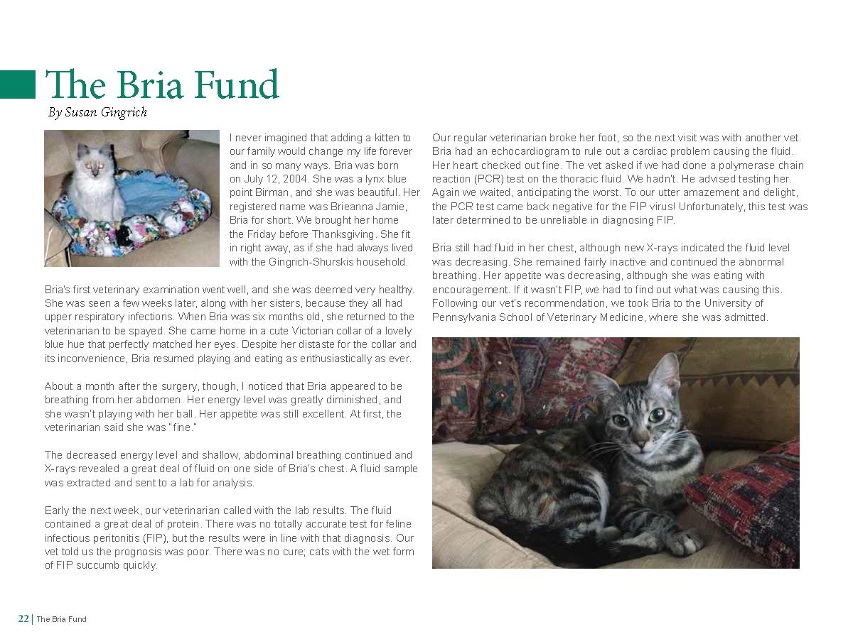 Bria Fund - page 1