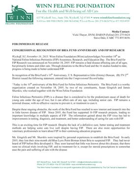 10th Anniversary of Bria Fund - Page 1