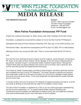 Bria Fund Established