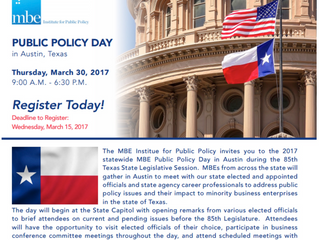 Public Policy Day for MBEs in Austin