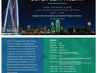 Affinity Strategic Partners president to speak at the City of Dallas' Super Cert Friday