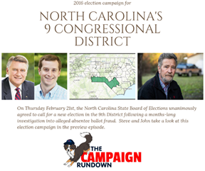 North Carolina's 9th congressional district, take two