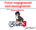 Voter engagement & management (with Steve Darcey)