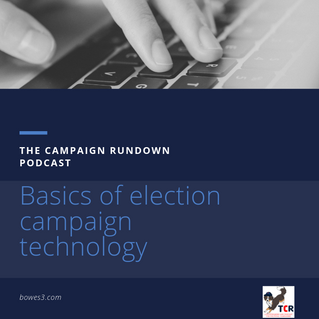 Basics of election campaign technology