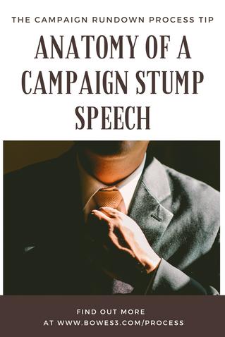 Anatomy stump speeches.