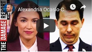 Twitter war between Scott Walker and  Alexandria Ocasio-Cortez about marginal tax rate