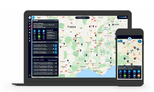 carlocate plateform location security connected cars
