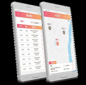 hoot app bike gps tracker best bike bicycle