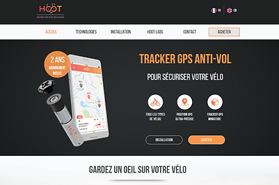 gps tracker for bike hoot
