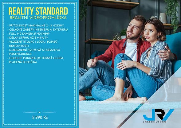 Reality standard-ceník JRV