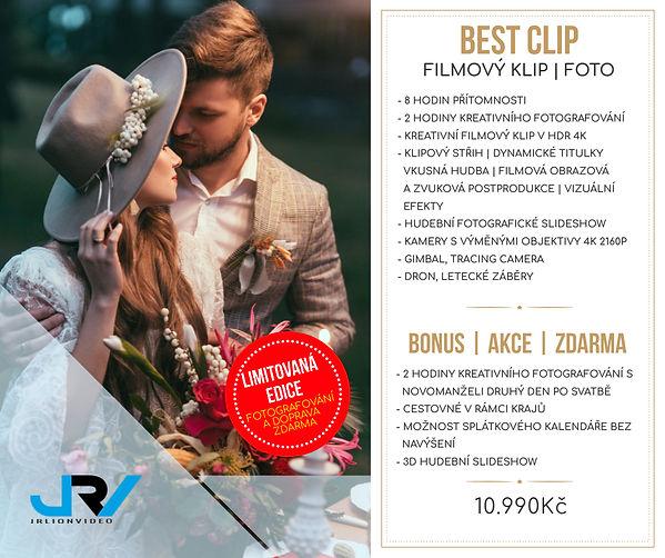 Svatební ceník JRV - Best Clip