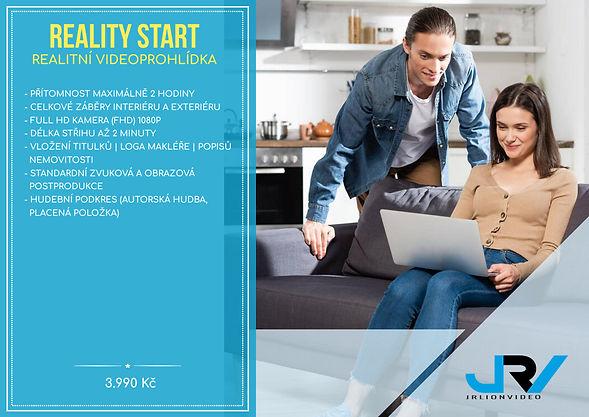 Reality start-ceník JRV