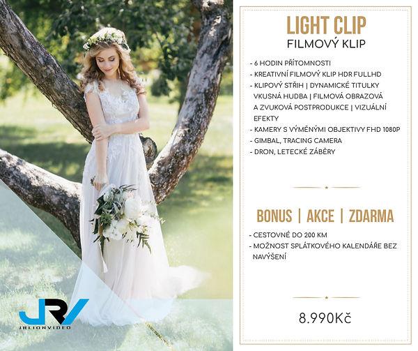 Svatební ceník JRV - Light Clip