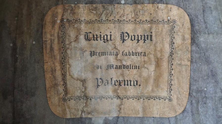Liuto Cantabile Label