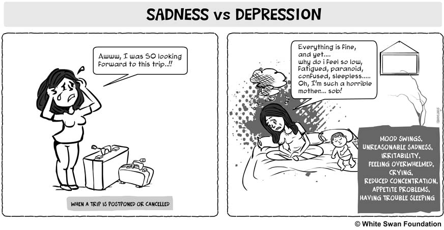 The Difference Between Depression And Sadness NuCentz Magazine Classy Sad And Depression Picture