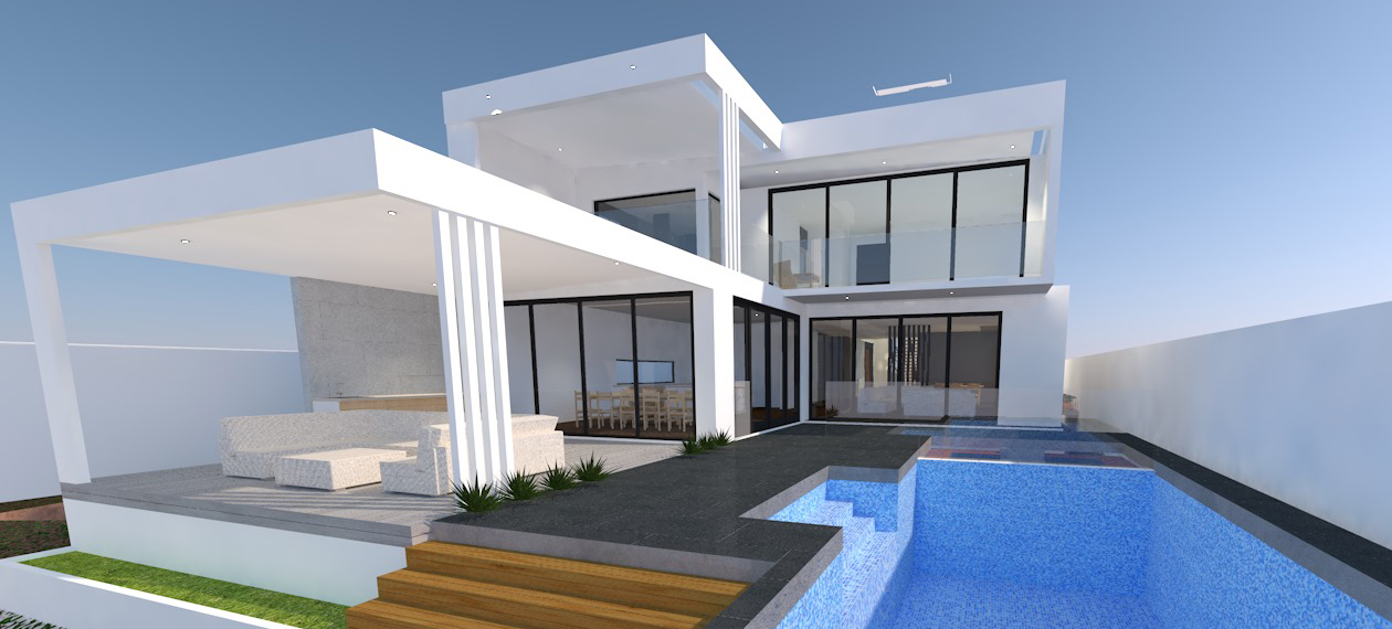 Surfers Paradise back yard render